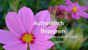 Authentisch Begegnen Frauen Ailu Leipzig